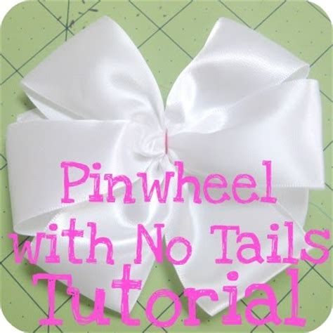 the jocole blog bow pinwheel with no tails