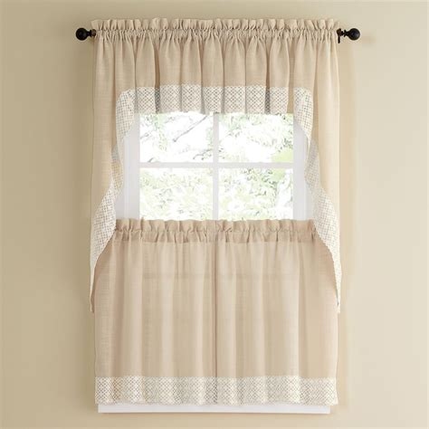 what are tier curtains salem french vanilla tier curtain