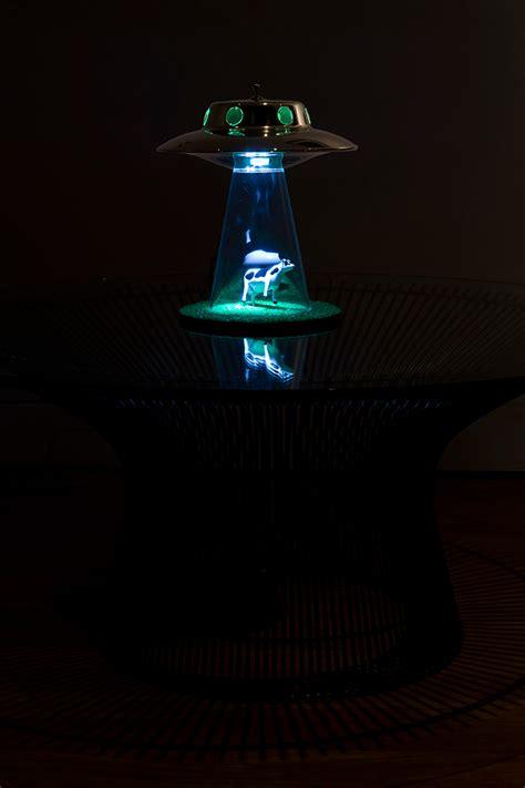 Parker Bookcase Alien Abduction Lamp By Lasse Klein