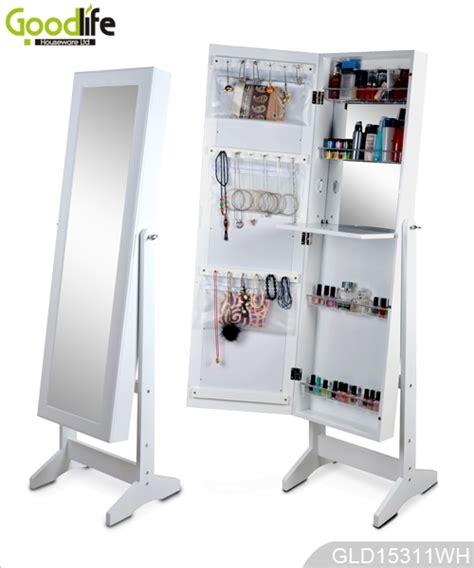 Jewelry Organizer Cabinet by White Makeup Cabinet Jewelry Organizer With Inside