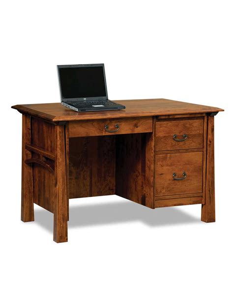 Amish Desk Artesa Small Desk Amish Direct Furniture