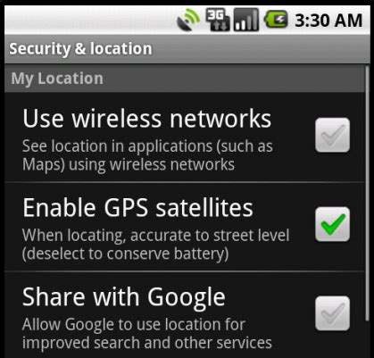 how to enable gps on android android rodies task 11 30 13