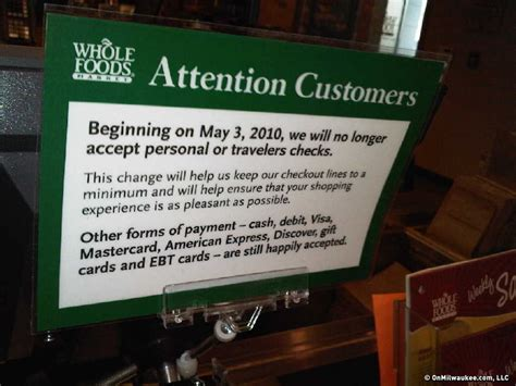 Whole Foods Background Check No More Checks At Whole Foods Market Onmilwaukee