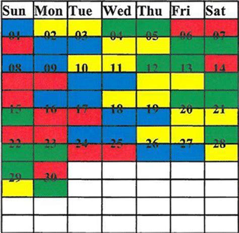 Firefighter Shift Calendar Generator