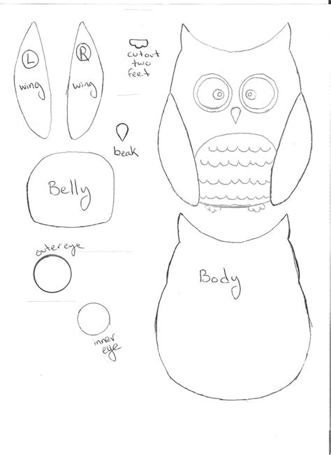owl templates for sewing best 25 owl applique ideas on
