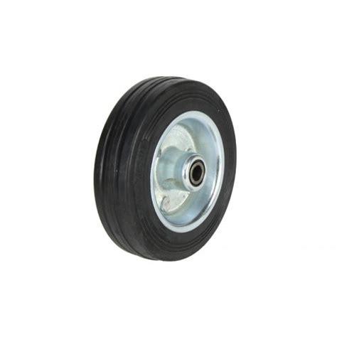 rubber stede rubber sts 100mm steel wheel rubber tyre