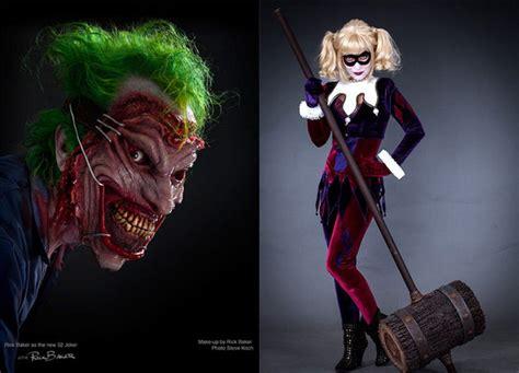 imagenes del joker y su novia el maestro del maquillaje rick baker rinde homenaje al