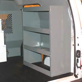 transit connect racking shelving truck shelving shelf and bin systems american