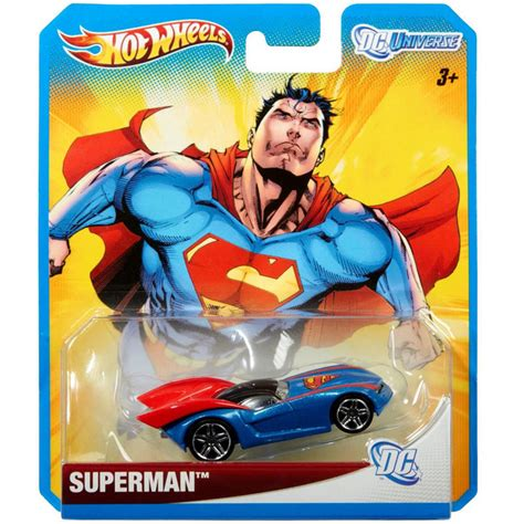 Hotwheels Dc Superman 1 wheels dc universe 1 64 die cast car superman joker