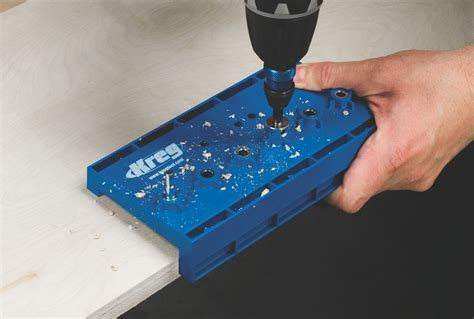 template for drilling holes in cabinet doors kreg kma3200 shelf pin drilling jig