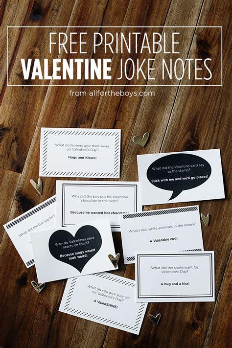 free printable valentine jokes valentines day cards archives brown ink