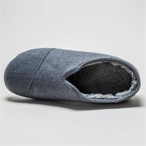 woolen slippers toms slipper charcoal mens wool slippers ebay