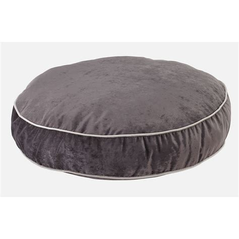 round dog bed bowsers supersoft platinum round dog bed