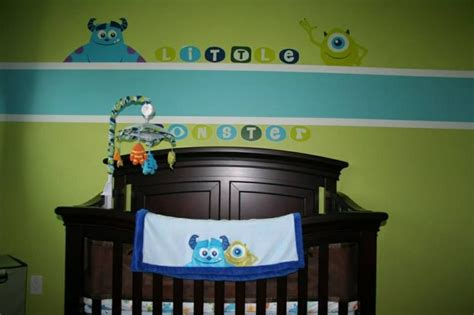 Monsters Inc Nursery Decor Monsters Inc Nursery That My Husband Designed Fin Pinterest Monsters Inc Nursery