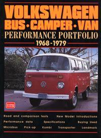 Manual Book Vw Combi 1969 Komplit Original vw volkswagen performance portfolio cer