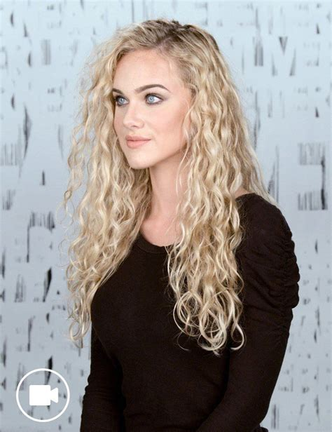 Curls Hairstyles by How To Style Curly Hair With Redken Curvaceous Redken