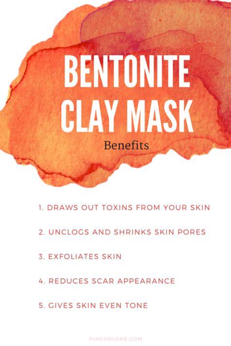 bentonite clay tattoo removal 5 benefits of bentonite clay diy mask