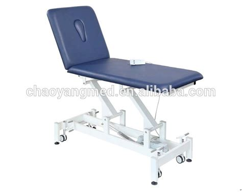 hospital chair bed china hospital furniture 2 section hi low electric massage