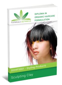 Hair Style Gel Formulations by Diploma In Organic Haircare Formulation Haircare