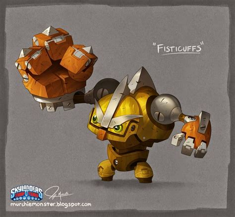 Kaos The Buzz Media skylanders quot scrap shooter quot and quot fisticuffs quot jeff murchie