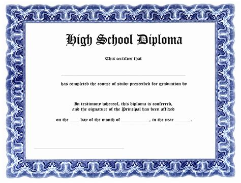 high school diploma templates for free 9 printable diploma templates tiati templatesz234