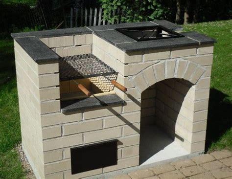 barbecue da casa costruire barbecue in muratura edilnet