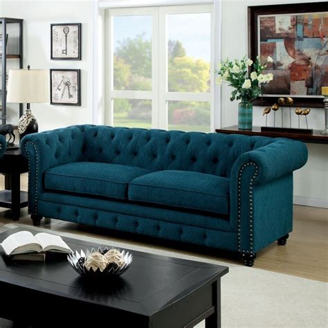 teal chesterfield sofa chesterfield sofa in teal sofas living room