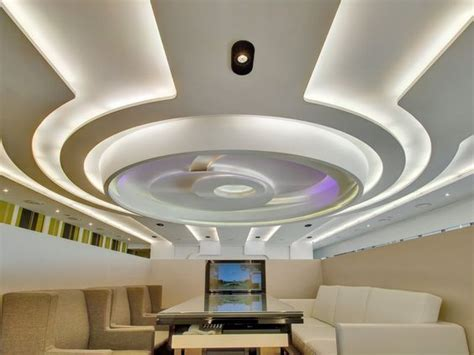 40 Latest gypsum board false ceiling designs with LED lighting 2018