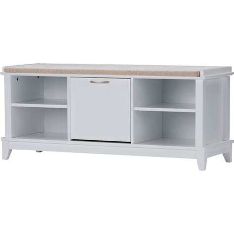 white bench seating swiss shoe storage seating bench taupe white dcg stores