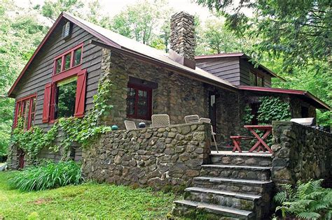 New York State Cottages For Sale by 1935 Log In Grafton New York Oldhouses