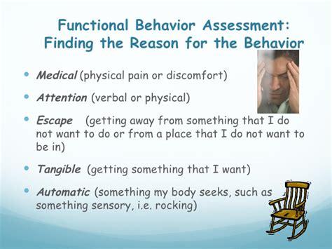functional behavior assessment functional behavior assessment