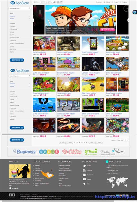 joomla themes store 9 best responsive joomla app templates 2015 frip in