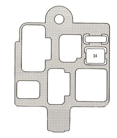 1996 lexus es300 fuse box diagram wiring diagrams