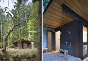 Building A Small Cabin In The Woods One Room Cabin Japanese Minimalism In Rustic Northwest