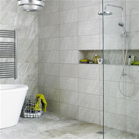 Light Grey Bathroom Tiles Ditto Light Grey Wave Ceramic Wall Tile By Bct Ceramic Planet