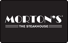 Mortons Steakhouse Gift Card - buy morton s steakhouse gift cards giftcardplace