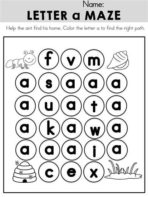 printable maze letter d lowercase letter a maze gt gt part of the alphabet adventures