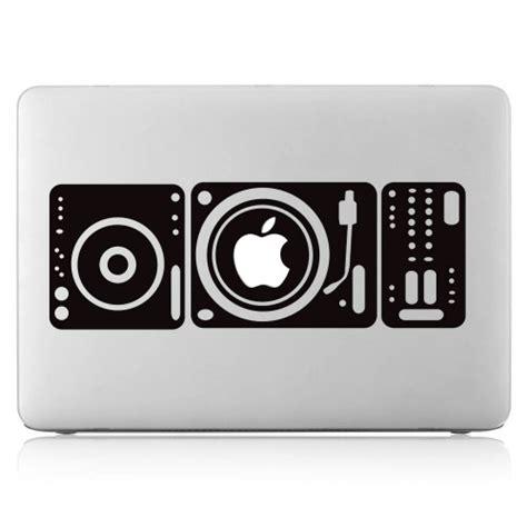Aufkleber Laptop Entfernen by Dj Plattenspieler Laptop Macbook Sticker Aufkleber