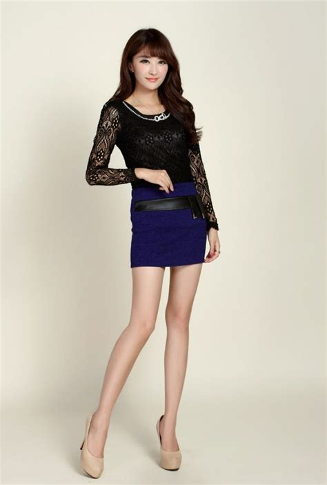 7 Favorite Winter Skirts by Winter Fall High Waisted Pu Patchwork Wrap Mini Pencil Skirts