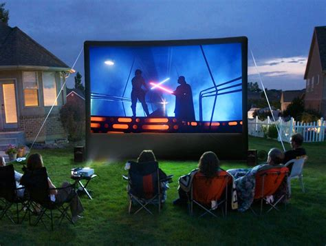 backyard entertainment an outdoor home theater can be a really fun diy project