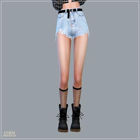 alpha belt hot pants  marigold sims  updates