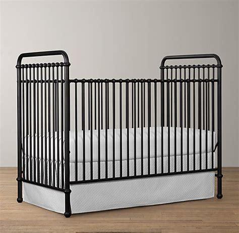 White Metal Baby Crib Millbrook Iron Crib Cribs Restoration Hardware Baby