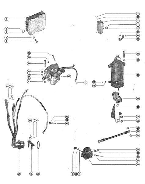 Mercury Marine 650 (4 Cylinder) Starter Motor, Starter