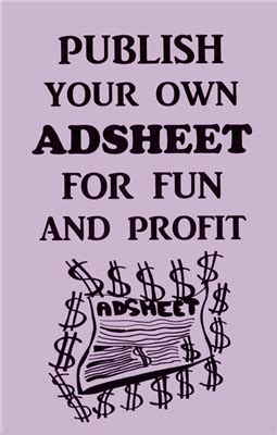 publish your own picture book how to publish your own adsheet for profit book