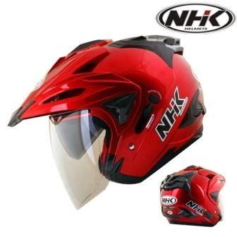 Helm Nhk Godzilla Motif Eight G Half Visor jual helm nhk godzilla merah marun gerai helm jakarta di