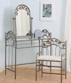 Metal Vanity Table Bedroom Beautiful Bedroom Vanity Designs For Excellent