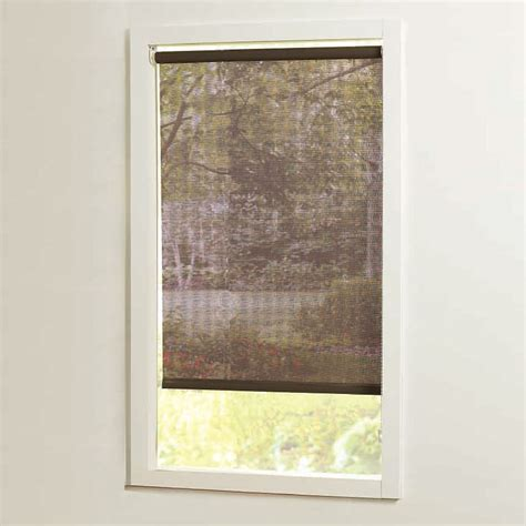 home decorators blinds home decorators collection 73 in x72in brown cut to size