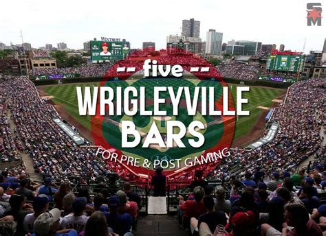 your guide to the cubs home opener top 5 bars in wrigleyville