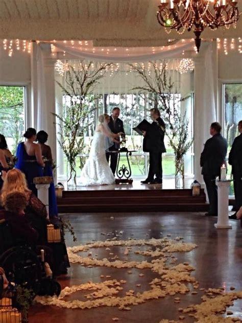 and groom indoor wedding decor houston house estate