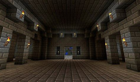 Minecraft Castle Interior by Castle Minecraft Project